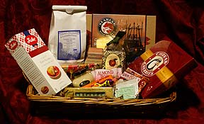 Photo of gift basket