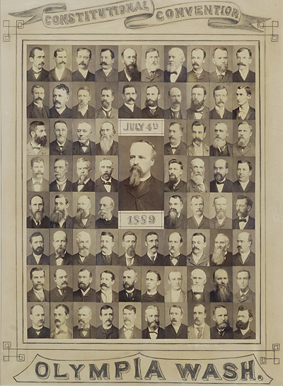 Picture of 1889 constitutional convention