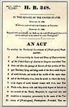 Picture of Organic Act document