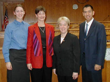 Sen. Murray with teachers