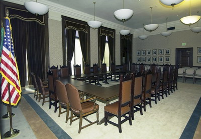 Photo of Senate Rules room