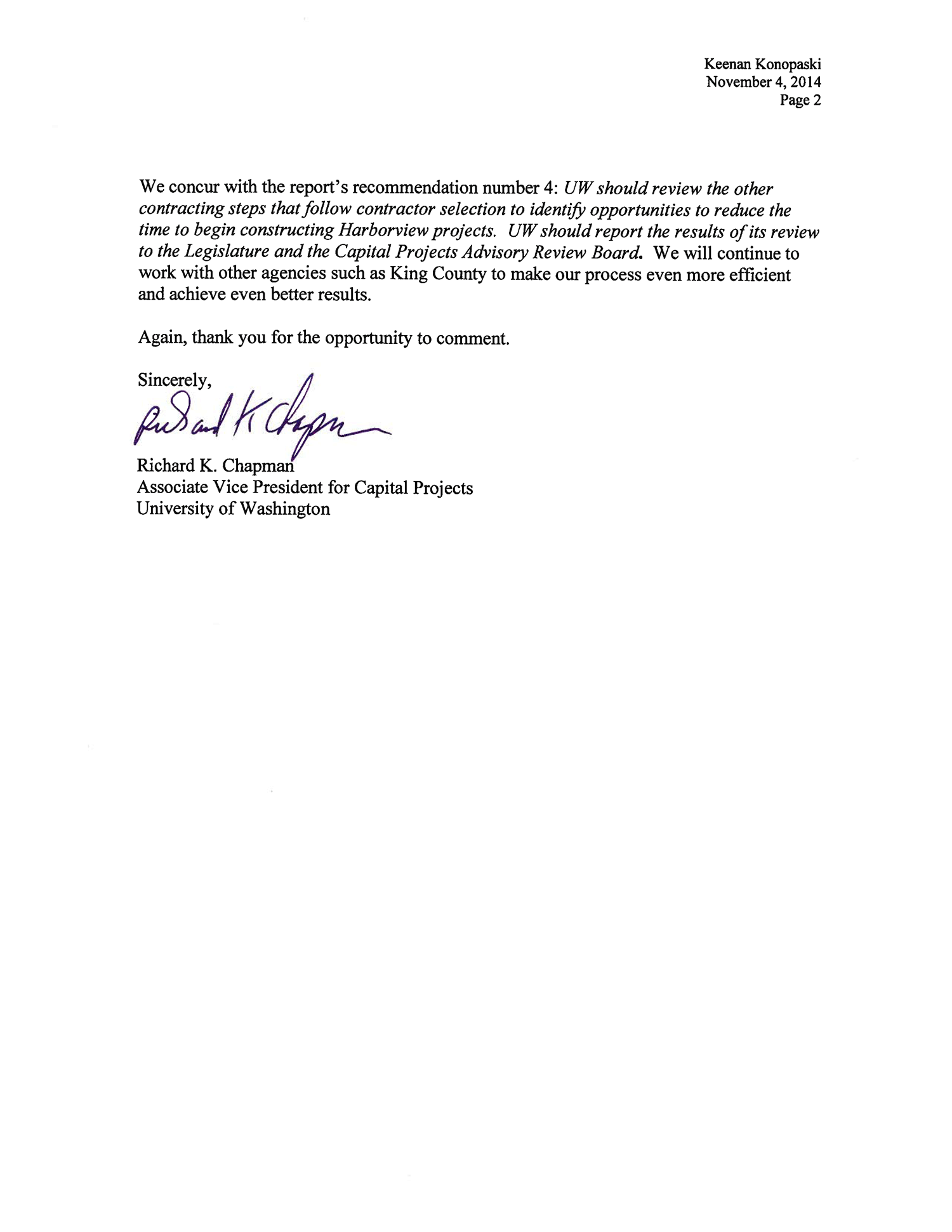 letters of recommendation university of washington